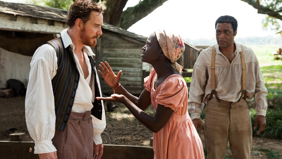 Michael Fassbender on 12 years a slave