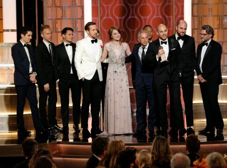 La La Land di Golden Globe Awards 2017