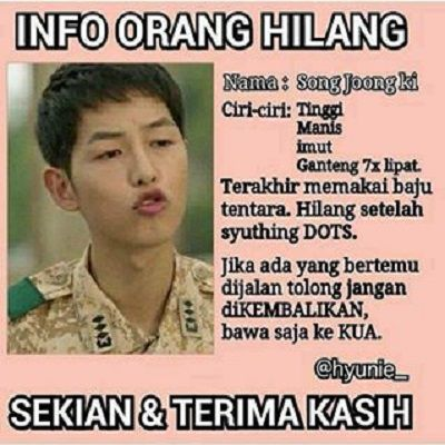 meme song joong ki