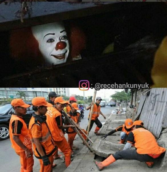 Meme Pennywise Indonesia